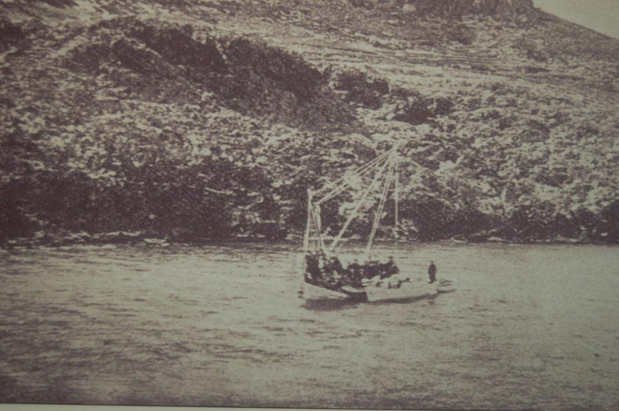 Isola di Antikythera: Sito del ritrovamento