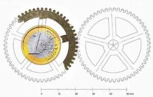 Ricostruzione dell'Ingranaggio di Archimede - © Copyright Giovanni Pastore